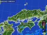 雨雲レーダー(2015年09月26日)
