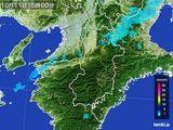雨雲レーダー(2015年10月11日)