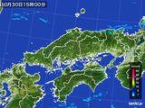 雨雲レーダー(2015年10月30日)