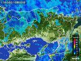 2015年11月08日の兵庫県の雨雲レーダー