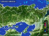 2015年12月05日の兵庫県の雨雲レーダー