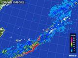 雨雲レーダー(2015年12月06日)
