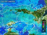雨雲レーダー(2015年12月10日)