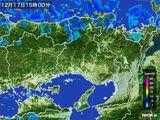 2015年12月17日の兵庫県の雨雲レーダー