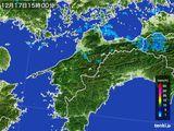 雨雲レーダー(2015年12月17日)