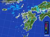 雨雲レーダー(2015年12月20日)