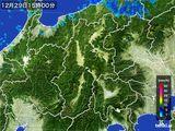 2015年12月29日の長野県の雨雲レーダー