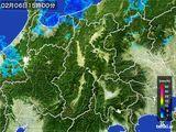 雨雲レーダー(2016年02月06日)