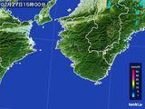 雨雲レーダー(2016年02月27日)