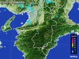 雨雲レーダー(2016年03月01日)