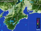 2016年03月06日の三重県の雨雲レーダー