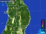 2016年03月09日の岩手県の雨雲レーダー