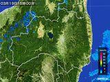 2016年03月19日の福島県の雨雲レーダー