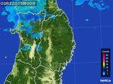 2016年03月22日の岩手県の雨雲レーダー