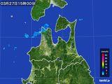 2016年03月27日の青森県の雨雲レーダー