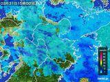雨雲レーダー(2016年03月31日)