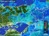 2016年05月06日の兵庫県の雨雲の動き