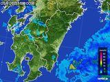 2016年05月06日の宮崎県の雨雲の動き