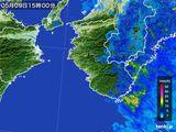 2016年05月09日の和歌山県の雨雲レーダー