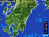 2016年05月09日の宮崎県の雨雲の動き