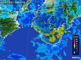 2016年05月10日の和歌山県の雨雲レーダー