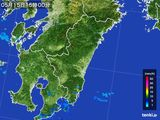 2016年05月15日の宮崎県の雨雲の動き