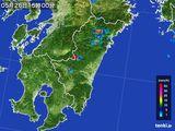 2016年05月26日の宮崎県の雨雲の動き