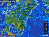 2016年05月29日の宮崎県の雨雲の動き