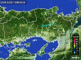 2016年05月30日の兵庫県の雨雲レーダー