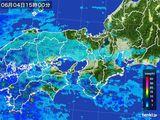 2016年06月04日の近畿地方の雨雲レーダー