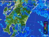 2016年06月04日の宮崎県の雨雲の動き