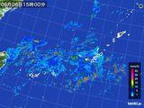 雨雲レーダー(2016年06月06日)