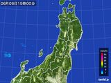 2016年06月06日の東北地方の雨雲レーダー
