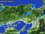 2016年06月09日の兵庫県の雨雲レーダー