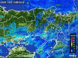 2016年06月16日の兵庫県の雨雲レーダー