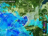 2016年06月22日の大阪府の雨雲レーダー