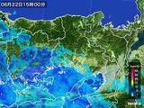 2016年06月22日の兵庫県の雨雲レーダー