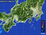 雨雲レーダー(2016年06月27日)