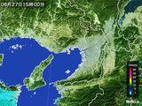 2016年06月27日の大阪府の雨雲レーダー