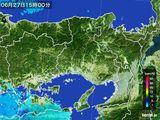 2016年06月27日の兵庫県の雨雲レーダー