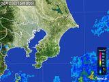 2016年06月28日の千葉県の雨雲レーダー