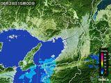 2016年06月28日の大阪府の雨雲レーダー