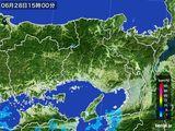2016年06月28日の兵庫県の雨雲レーダー