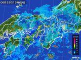 2016年06月29日の近畿地方の雨雲レーダー
