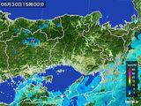 2016年06月30日の兵庫県の雨雲レーダー