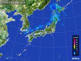 雨雲の動き(2016年07月02日)