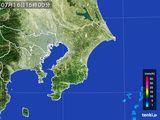 2016年07月16日の千葉県の雨雲レーダー
