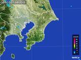 2016年08月02日の千葉県の雨雲レーダー
