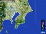 2016年08月04日の千葉県の雨雲レーダー
