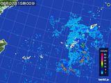 2016年08月07日の沖縄地方の雨雲レーダー